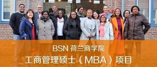 BSN荷兰商学院工商管理硕士MBA项目