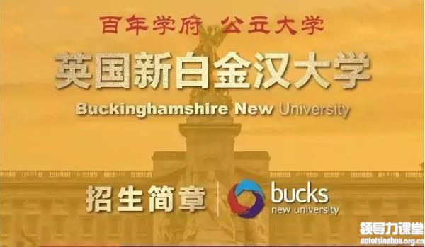 英国新白金汉大学工商管理硕士MBA学位项目