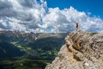 旅游希望愿景登山