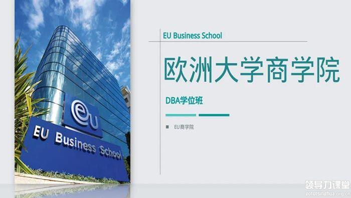 欧洲大学商学院(EU)博士学位DBA项目招生简章